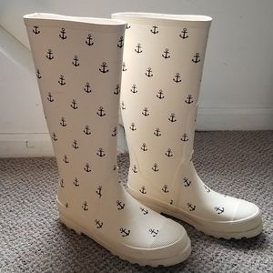 Beautiful J. Crew rain boots